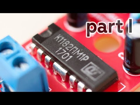 Регулятор мощности К1182ПМ1, попытка подключить к Arduino