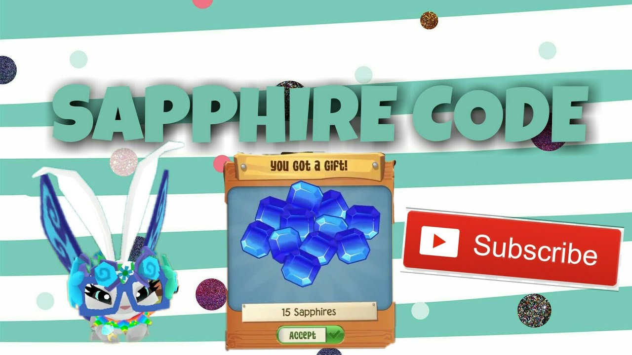 ANIMAL JAM PLAY WILD FREE SAPPHIRE CODE - YouTube