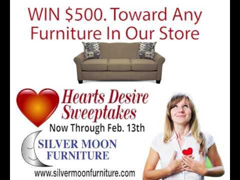 Silver Moon Furniture Hearts Desire Promot