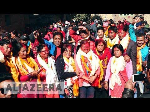 Nepal's Left Alliance celebrates landslide victory