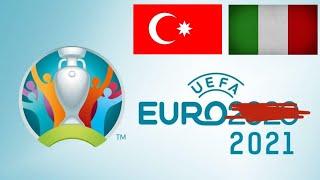 Футбол Чемпионат Европы Прямая трансляция Турция Италия