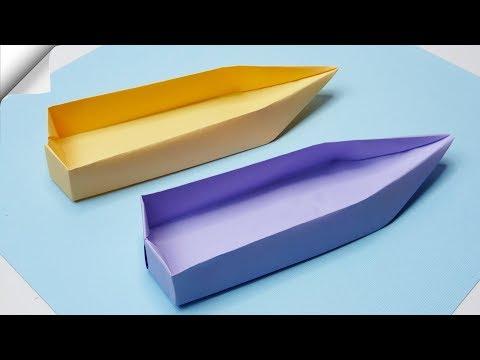 DIY paper crafts for kids   Paper boat
