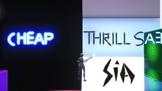 Sia - Cheap Thrills on Fortnite Music Blocks
