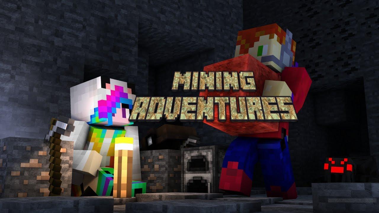 mining adventure games