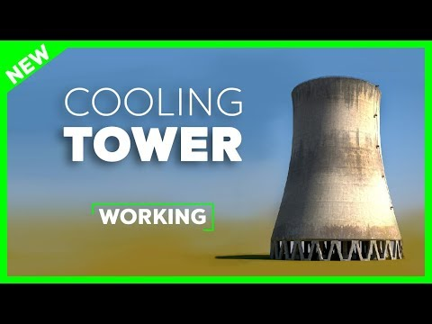 Working of Cooling Tower - Nuclear Power Plant