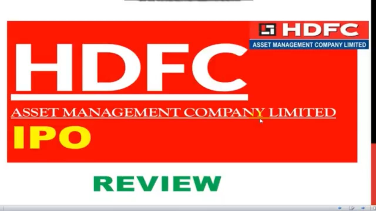 Hdfc amc ipo crisil rating