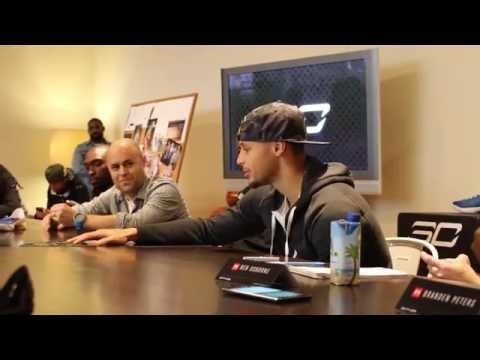 Designer Dave Dombrow & Stephen Curry Discuss the Under Armour Curry One