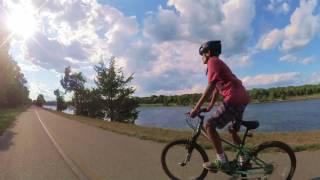 Biking Cape Cod Canal East Trail