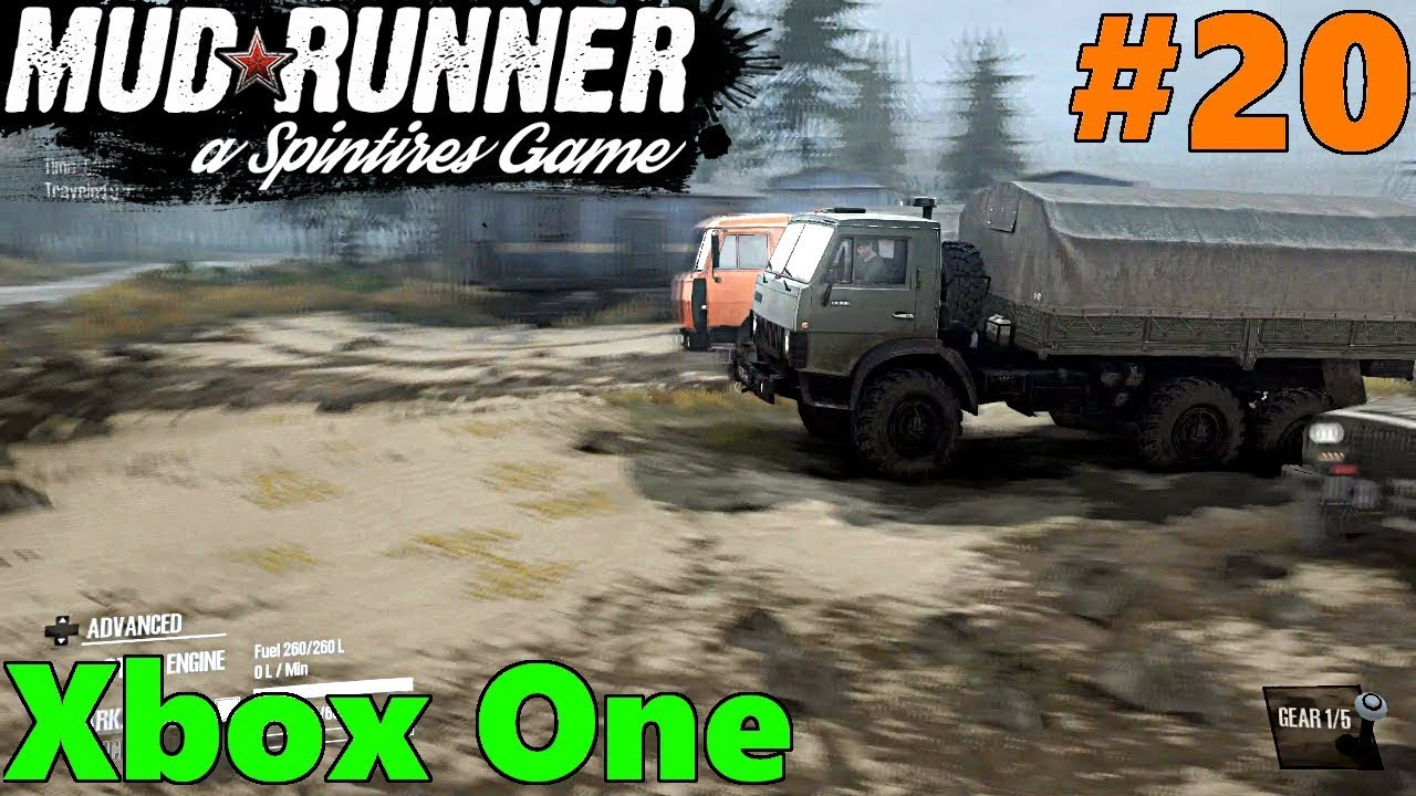 spintires mud runner xbox one let 39 s play part 20. Black Bedroom Furniture Sets. Home Design Ideas