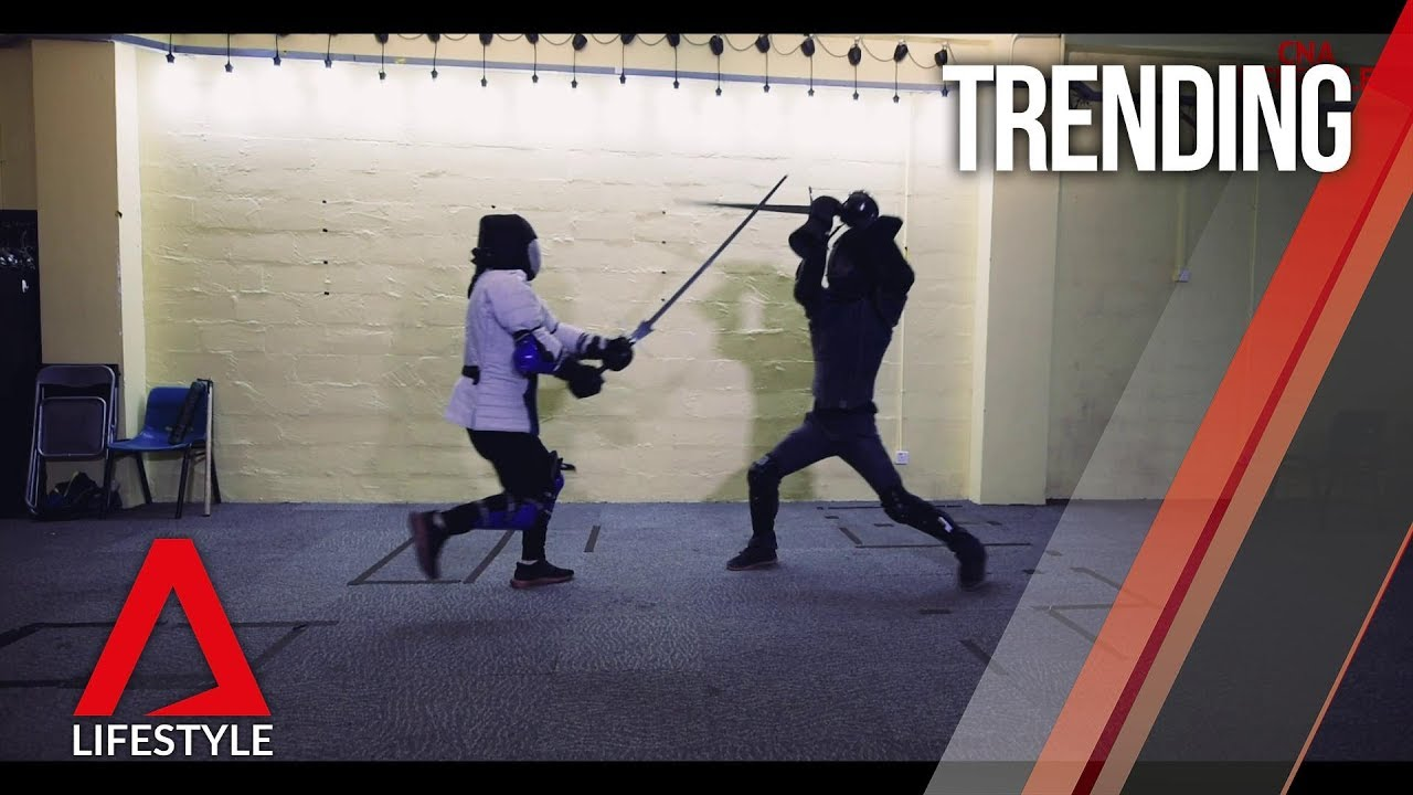 Medieval fencing cuts a common ground for fans from all
