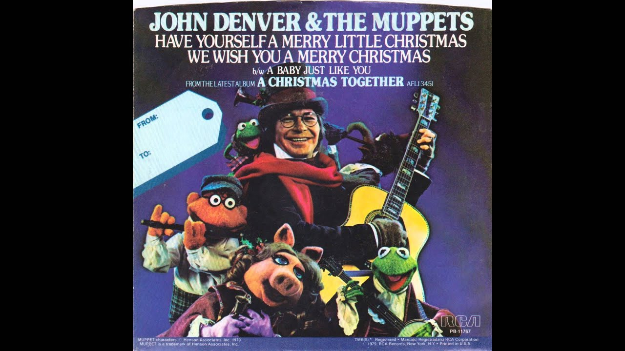 "John Denver & The Muppets – ""A Baby Just Like You"" (RCA) 1979 - YouTube"