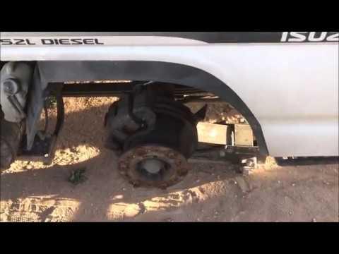 2006 Isuzu nqr front brakes