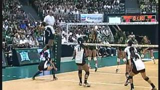 Rainbow Wahine Volleyball 2011 - #10 Hawai'i Vs San Francisco (Part 1 of 3)