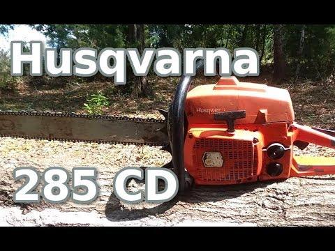 Husqvarna 285cd Show And Tell Youtube