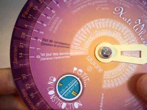 Calendrier Gestationnel.Calendrier De Grossesse Natiwheel Par Sauvane Disque De Grossesse Pregnancy Wheel