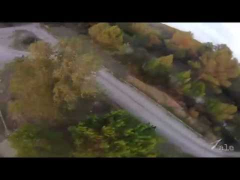 FPV racing practice session RAW