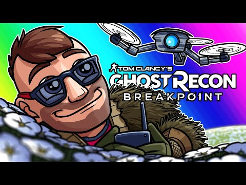Ghost Recon Breakpoint Funny Moments - Finding Elon Musk with Azerrz!