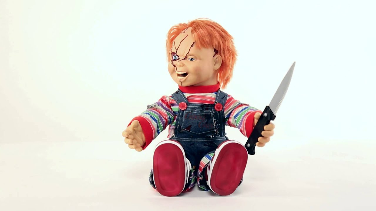 Chucky Talking Doll Spencer S Youtube