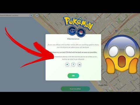 Pokemon GO - THIS IS WHY ALL POKEMON GO SCANNERS ARE DOWN! *May 2018*