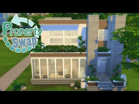 Blossoming Retreat! Property Swap - Random Walls : Sims 4 Speed Build Challenge