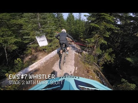 Iago Garay and Mark Scott on EWS Stage 2 Crankworx Whistler