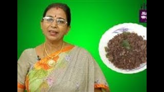 Ragi Upma in Tamil | Mallika Badrinath Recipes | Iron Rich Breakfast