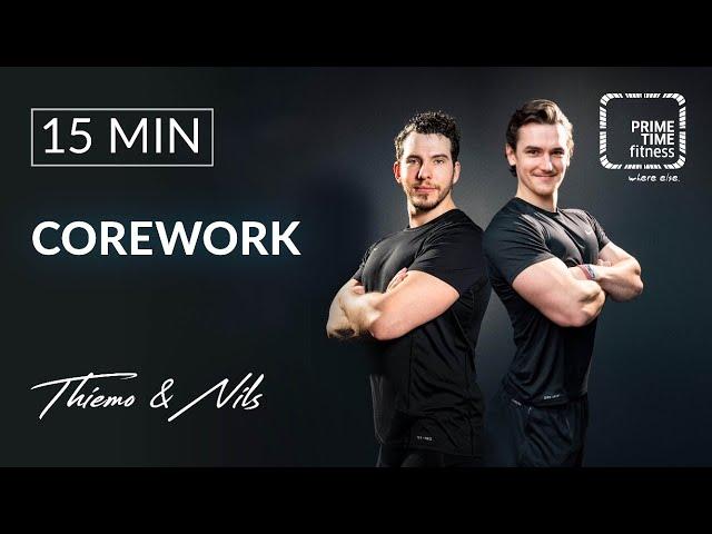 Corework mit Nils & Thiemo - Bauch trainieren - @home