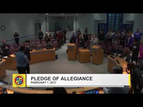 Oceanside City Council Meeting - February 1, 2017 P2