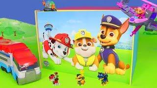 Paw Patrol Unboxing: Ryder, Chase, Feuerwehrmann Marshall, Skye & Rubble Spielzeugautos für Kinder