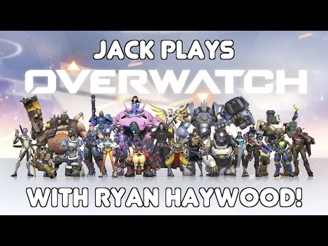 Jack plays some Overwatch with Ryan! (May 30th, 2016)