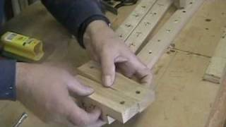 How To Make A Picture Frame Clamping Device - A Woodworkweb Woodwoking Video