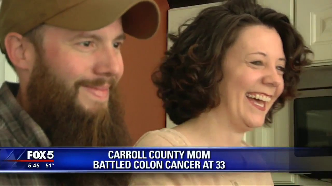 Georgia Mom Diagnosed With Colon Cancer At 33 Youtube