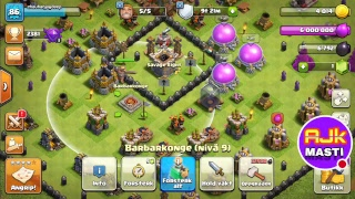 My Clash of Clans Stream TH 8 PUSHING JOIN NOW