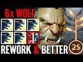 +3 Wolf Ez RAT Dota 707 MetA Ditya Ra Lycan Carry Dota 2