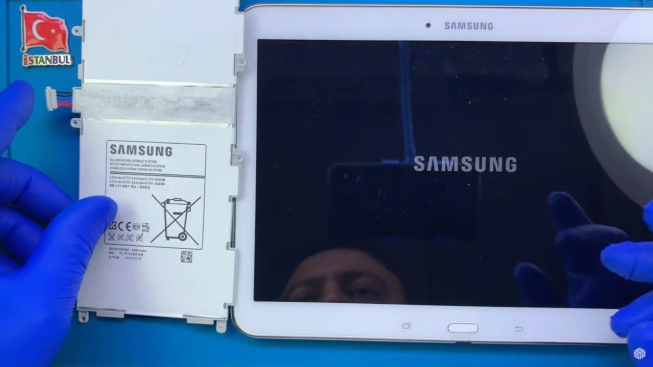 samsung galaxy tab 4 10 0 tablet batarya degisimi