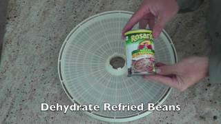 Dehydrate Refried Beans