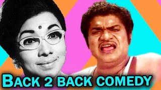 Suruli Rajan Vs Manorama Back 2 Back Comedy Scenes