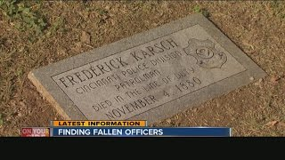 Cincinnati police museum on search to locate gravesites of every officer killed on duty