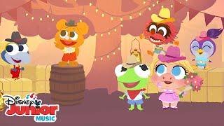 Muppet Babies Nursery Rhymes! Part 2 Compilation |🎶Disney Junior Music Nursery Rhymes| Disney Junior