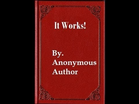 IT WORKS! The Famous Little Red Book That Makes Your Dreams Come True! Law Of Attraction