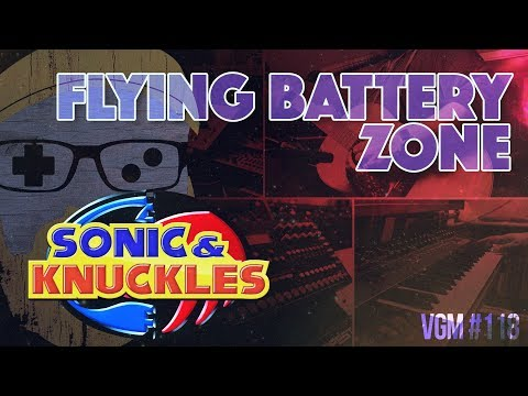 VGM #118: Flying Battery Zone (Sonic & Knuckles) Chill Ambient Cover