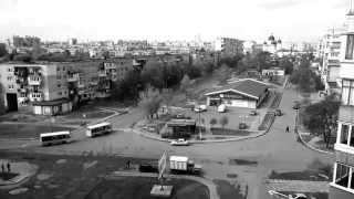 Ukraine Chervonograd. Stepan Bandera street.