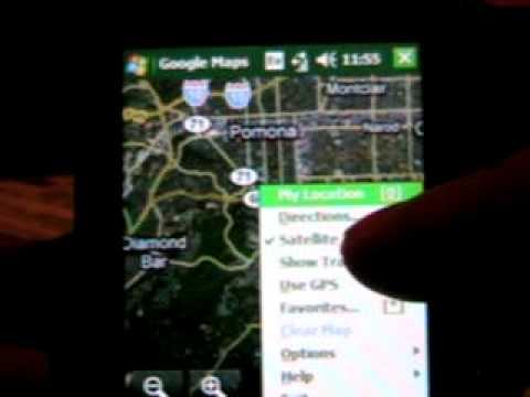Google maps on my Samsung Sch-i760