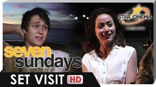 Set Visit   Enrique & Cristine   'Seven Sundays'