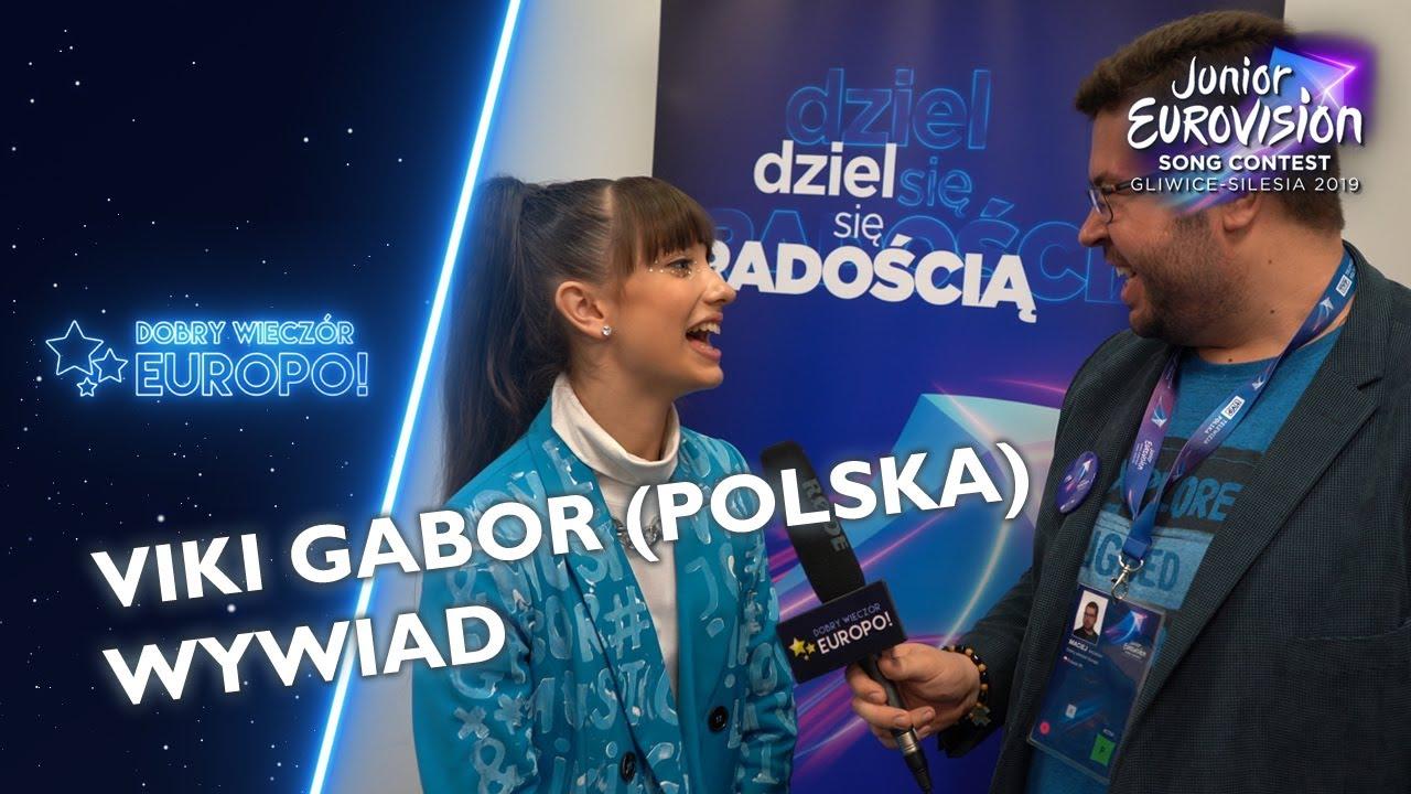 Co zaskoczyło Viki Gabor na Eurowizji w Gliwicach? (wywiad, Eurowizja Junior)