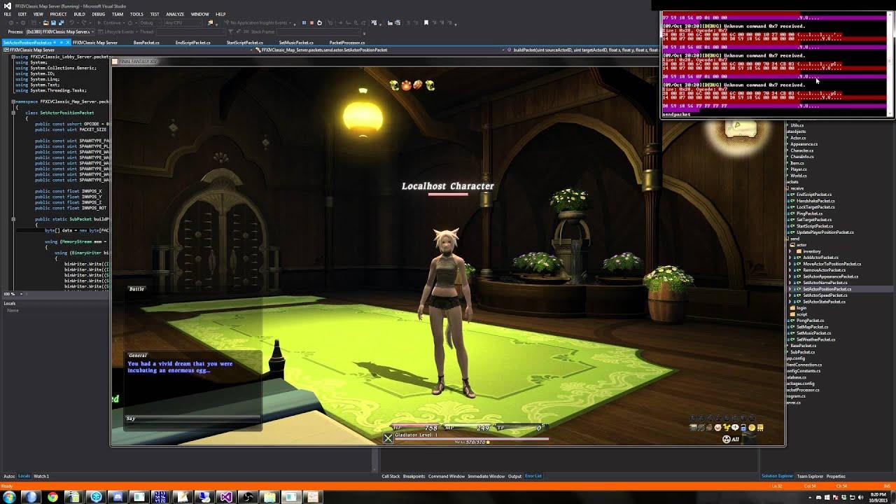 FFXIV 1 0 Classic Server Dev Blog