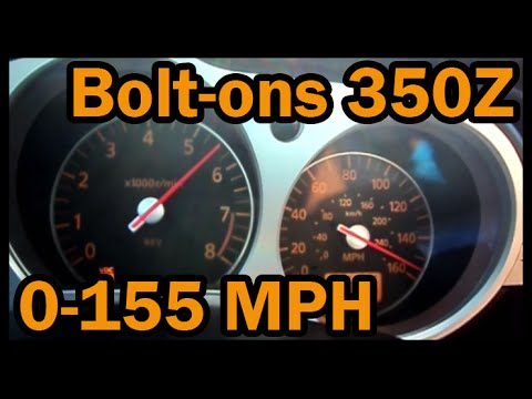Marvelous Nissan 350Z Top Speed 0 155 Mph (250 Kph)