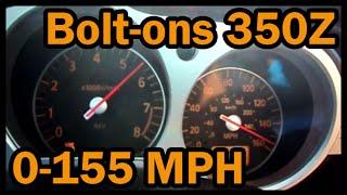 Nissan 350Z Top Speed 0-155 mph (250 Kph)