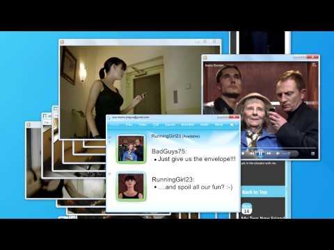 """Intel """"The Chase"""" advertising - Film publicitaire Intel """"La poursuite"""" - Core i5"""