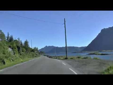 Norwegia / Norge - Lofoty - droga 815, E10 - Leknes, Valberg, Rorvikvatnet